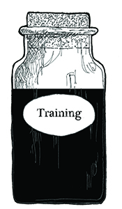TRAINING BOTTLE